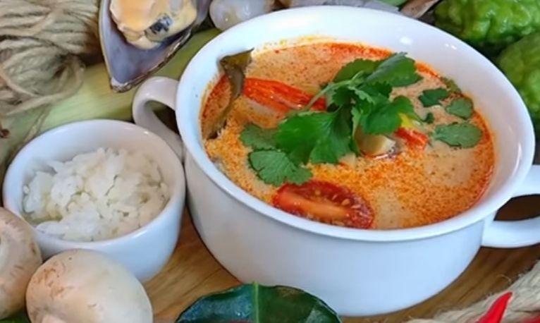 Том Ям с креветками в домашних условиях. Классический рецепт тайского супа Tom Yum с кокосовым молоком